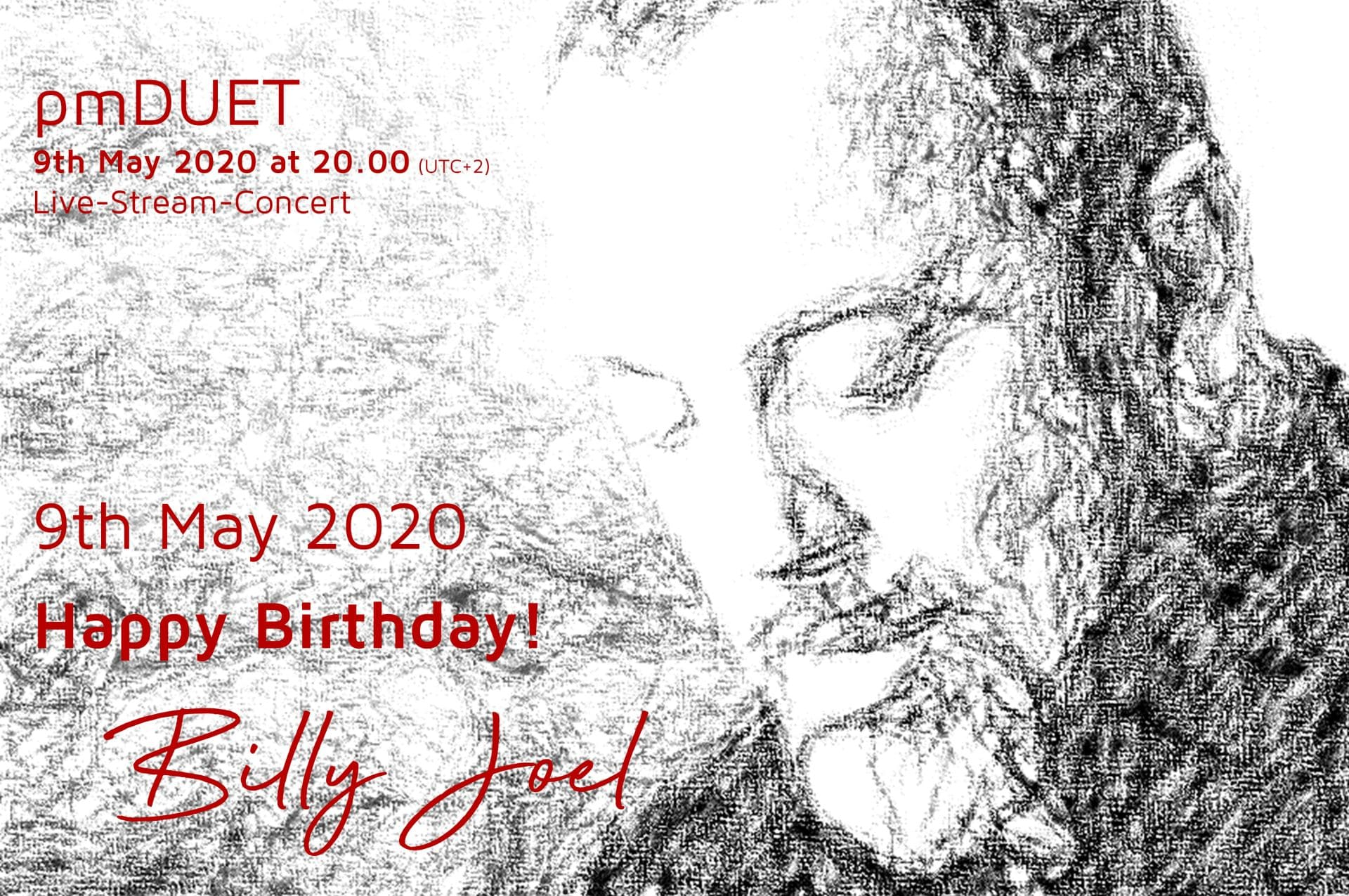 pmDUET - Happy Birthday! Billy Joel Konzert